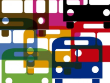 Uppdaterade linjekartor för kollektivtrafiken