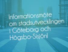 Informationsmöte om stadsutvecklingen