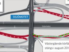 Trafiköppning och tillfällig avstängning